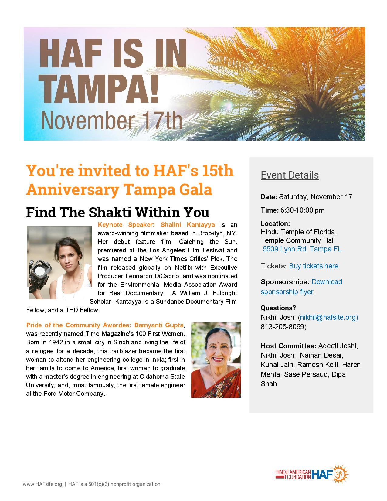 Tampa Bay Indian Community, Tampa Bay Desi Community